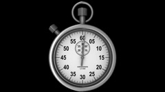 Db 20 second stopwatch 02 hd1080 Stock Footage