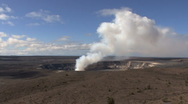 Hawaii Kilauea volcano erupting  Stock Footage