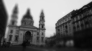 Stock Video Footage of Basilica In The Evening Timelapse 03