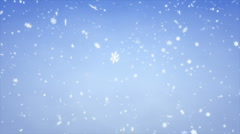 Snow Fall Stock Footage