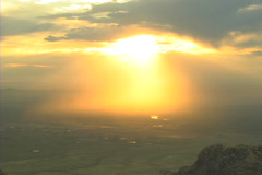 Albuquerque NM sunset Stock Footage