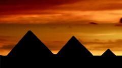 Pyramides 02 Stock Footage