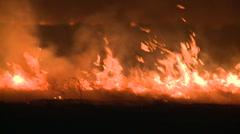Line of fire  Stock Footage
