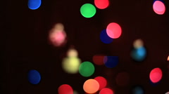 Christmas Ornaments3 Stock Footage