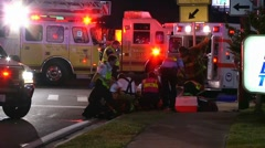 Motorcycle Crash PPFR#2 Stock Footage