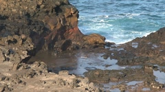 Blowhole Maui,Hawaii Stock Footage