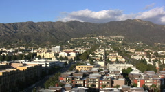 CA View from Burbank Stock Footage