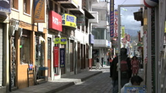 Ecuador signs and street Latacunga Stock Footage