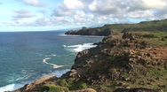 Stock Video Footage of Coast Maui,Hawaii