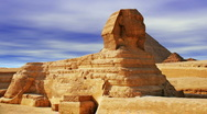 Stock Video Footage of The Sphinx and Pyramid
