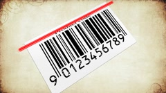 Stock After Effects of Barcode AE project