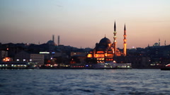 Eminonu, Istanbul Stock Footage