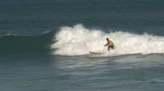 Stand Up Peddle surfing Stock Footage
