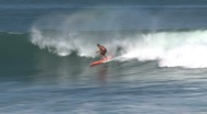 Stock Video Footage of Wave surfing