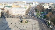 Sofia square, Kiev. Stock Footage