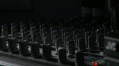 Mixer Lighting Pass Up Stock Footage