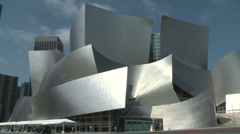 Los Angeles Disney Concert Hall Stock Footage