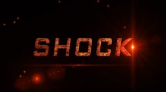 Shock Intro Stock After Effects
