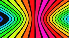 Horizontal rainbow strips 2 - stock footage