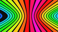 Stock Video Footage of Horizontal rainbow strips 2