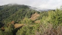 Mountains , coast range california Stock Footage