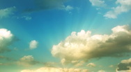 Time Lapse Clouds Stock Footage