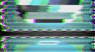 TV Test Pattern Full HD Stock Footage