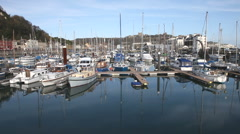 The yacht marina in Dover, Kent, UK Stock Footage