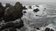 California coast  Stock Footage