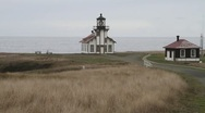 Cabrillo lighthouse Stock Footage