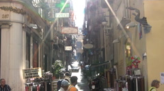 Italy - Campania - Naples - stock footage