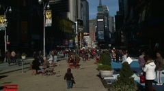 New York Times Square Time Lapse Stock Footage