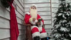 Father Christmas  Stock Footage