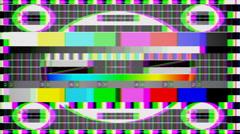 TV Noise Full HD Stock Footage