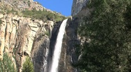 Stock Video Footage of Yosemite National Park waterfall
