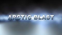 ARCTIC BLAST ALERT w Alpha Stock Footage