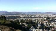 San Francisco skyline Stock Footage