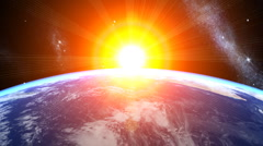 3d Earth Animation 26 Stock Footage
