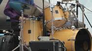 Stock Video Footage of rock drummer