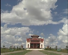 Monastery,  Buddhism Stock Footage