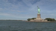 Stock Video Footage of Statue of Liberty, New York City