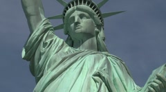 Statue of Liberty, New York City - stock footage