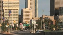 Downtown Winnipeg - stock footage