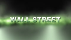 WALL STREET MELTDOWN w Alpha Stock Footage