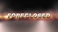 FORECLOSED BANK OWNED w Alpha Stock Footage