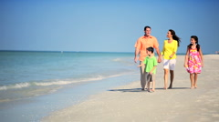 Family Enjoying Time Spent Together Stock Footage