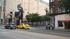 Downtown Seattle, United States - stock footage