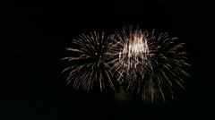 Colorful Fireworks Celebration Stock Footage