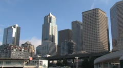 Stock Video Footage of Downtown Seattle, United States