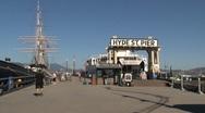 Hyde st pier San Francisco Stock Footage